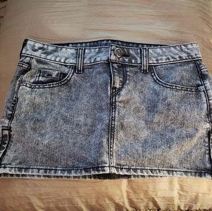 GUESS denim mini-skirt
